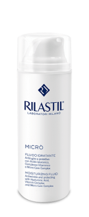 Tinh chất dưỡng da chống lão hóa dành cho da dầu Rilastil Micro Moisturizing Fluid - Micro'
