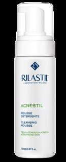 Bọt rửa mặt dành cho da mụn Rilastil Acnestil Face Cleansing Mousse - Acnestil