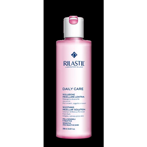 Tẩy trang dành cho da nhạy cảm Rilastil Daily Care Soothing Micellar Solution